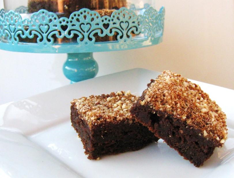 vegan chocolate pumpkin cake brownies the vegan 8