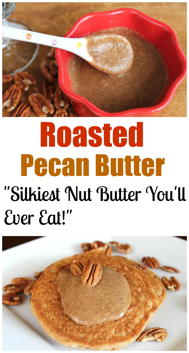 Roasted Pecan Butter | The Vegan 8