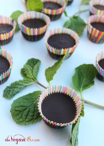 Superfood Dark Mint Chocolates
