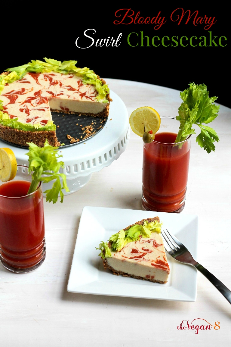 Bloody Mary Swirl Cheesecake...Recipe Feature For Williams-Sonoma ...