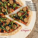 The 4 Step Gluten-free Yeast-Free Pizza Crust