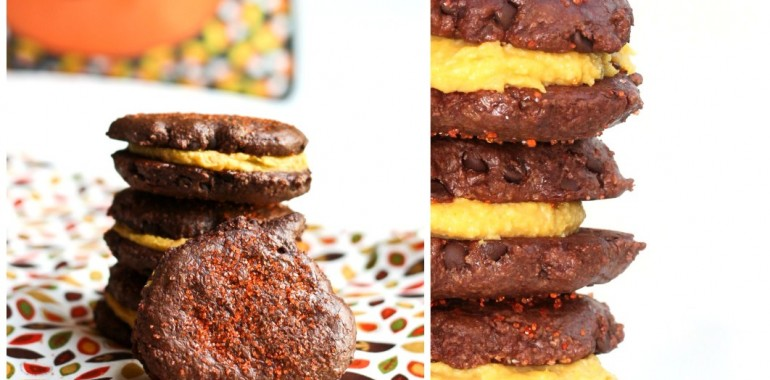 Chocolate-Dipped Chocolate-Apricot Sandwich Cookies Recipe ...