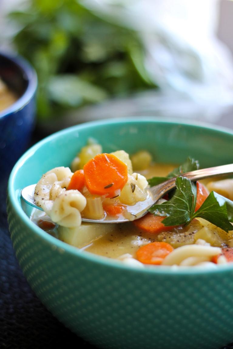 Classic Vegan Noodle Soup The Vegan 8