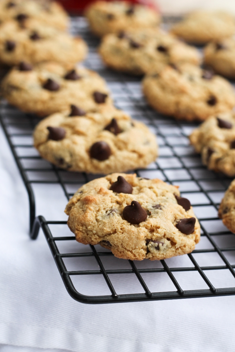 ginger chocolate chip cookies