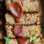 Oat-Free Spicy Barbecue Lentil Loaf