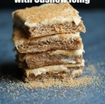 Raw Vanilla Pecan Dream Bars with Cashew Icing (Sprout Living Review and Giveaway)