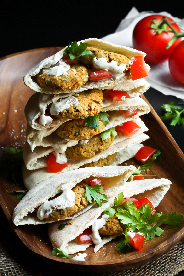 Easy Vegan Baked Falafel Oil Free The Vegan 8