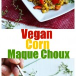 Vegan Corn Maque Choux