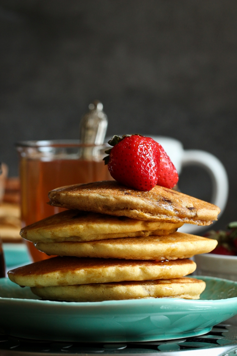 Low fat vegan gluten free pancakes soft fluffy the vegan 8 i cant wait to hear what you think of these low fat vegan gluten free pancakes id love to hear which flavor you went with or how you served them ccuart Images