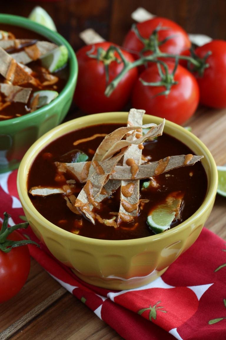 Vegan Mexican Tortilla Soup - The Vegan 8