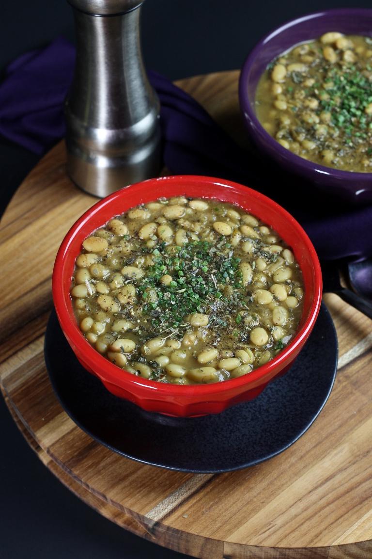 White Bean Chili (From The Make Ahead Vegan Cookbook)