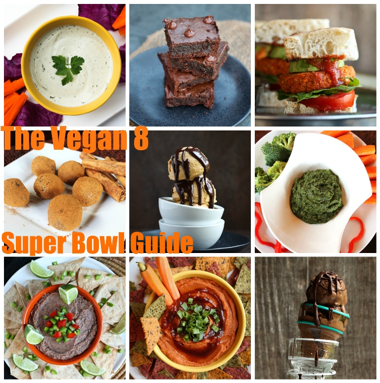 The Vegan 8 Guide to Super Bowl Eating