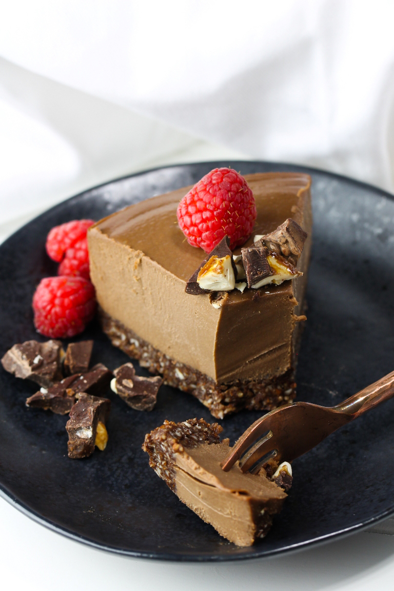 recipe: raw chocolate cheesecake vegan [1]