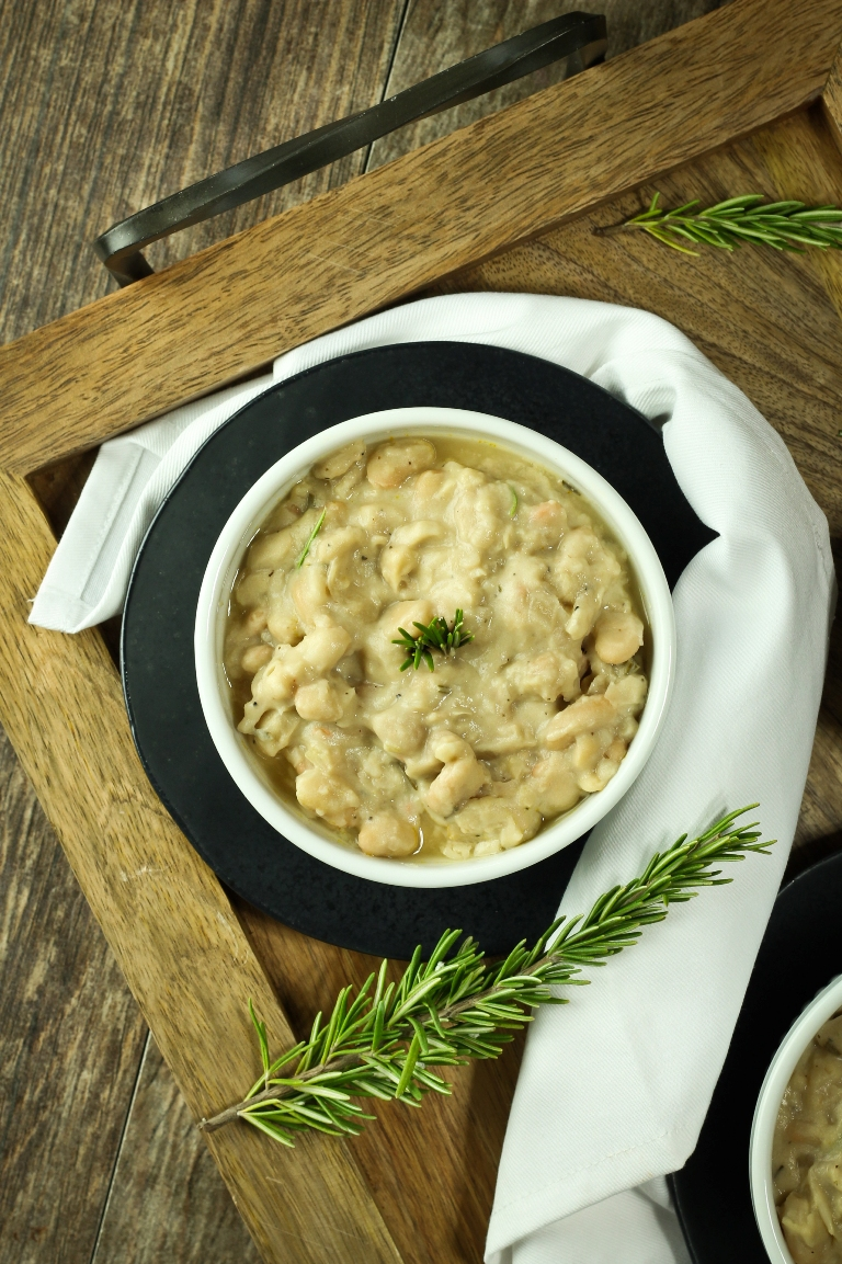Rosemary White Beans Zoes Kitchen Copycat The Vegan 8