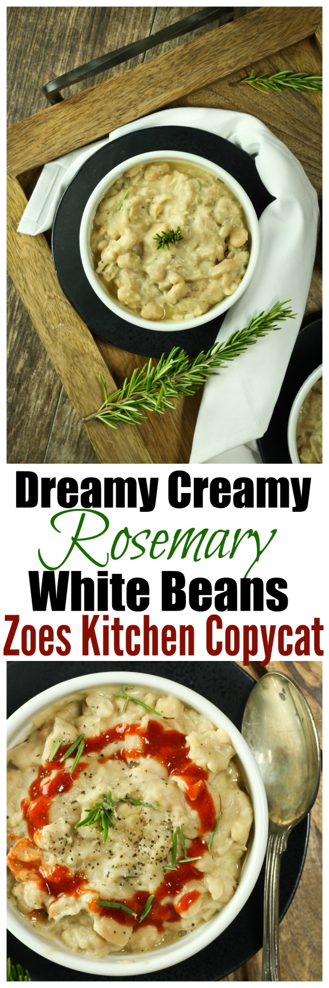 Rosemary White Beans (Zoes Kitchen copycat) | The Vegan 8
