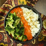 Spicy Red Pepper Curry Bowl