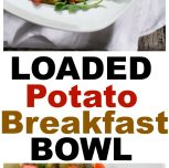 Loaded Potato Breakfast Bowl From Vegan Bowl Attack Cookbook (Giveaway)