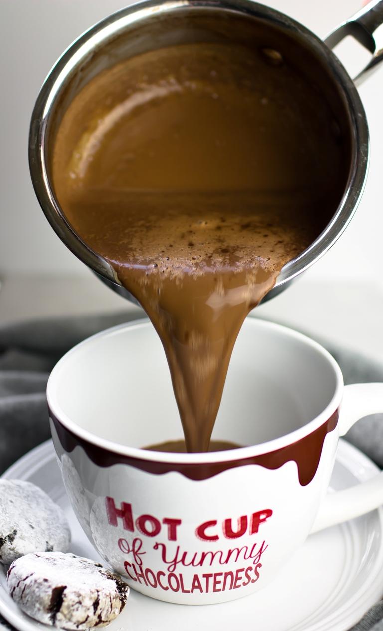 The Best Vegan Hot Chocolate! | The Vegan 8