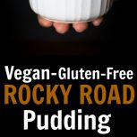 Vegan Rocky Road Pudding