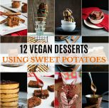 12 Vegan Desserts Using Sweet Potatoes