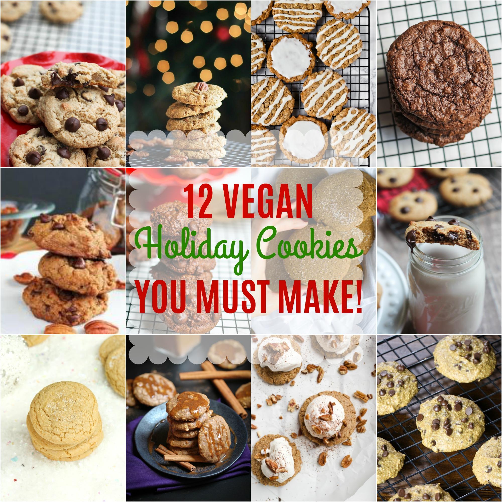 12 Vegan Holiday Cookies You Must Make The Vegan 8