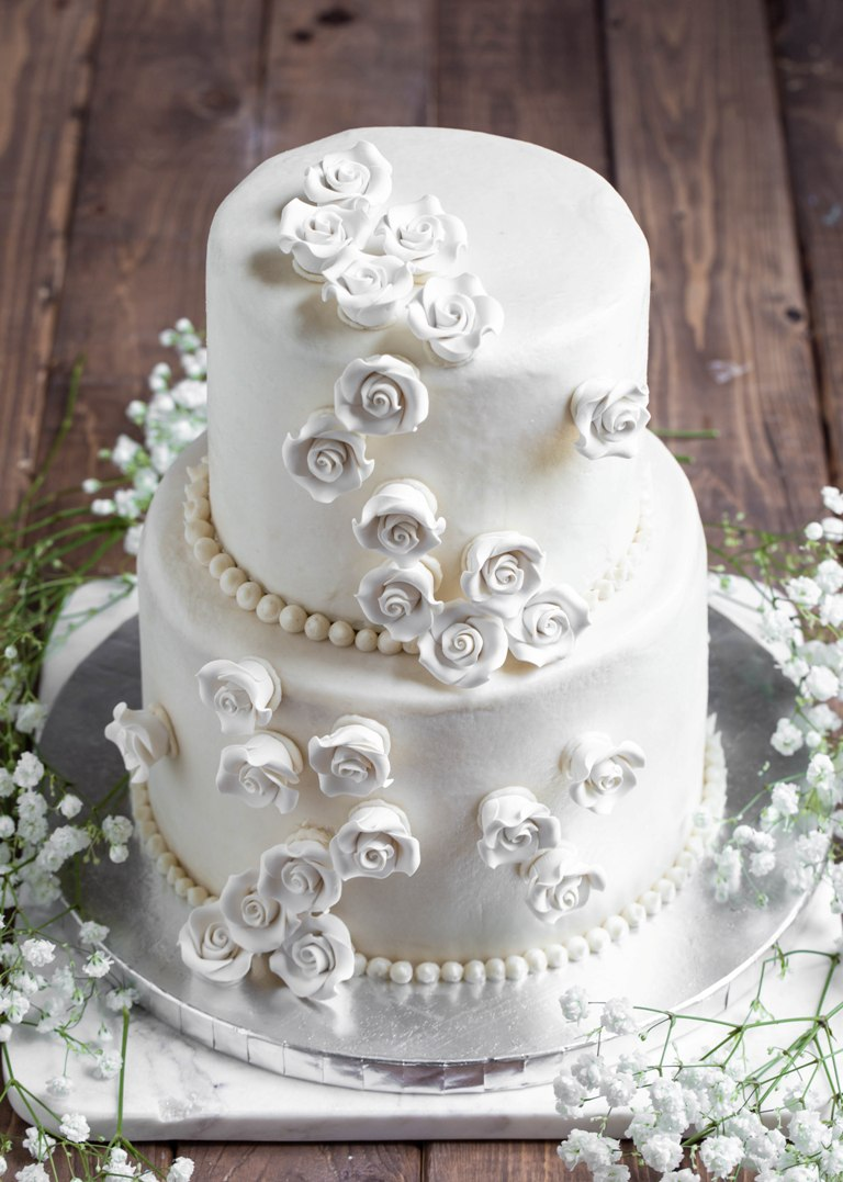 Vegan Gluten Free Vanilla Wedding Cake