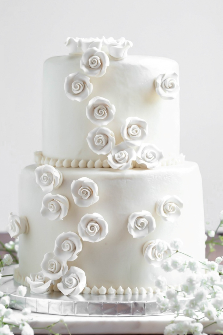 Vegan Vanilla Wedding Cake (Full tutorial!) - The Vegan 8