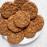 Vegan Chai Coconut Oatmeal Cookies