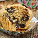 Vegan Chocolate Chip Muffins