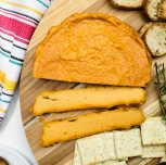Vegan Baked Smoky Cashew Cheese