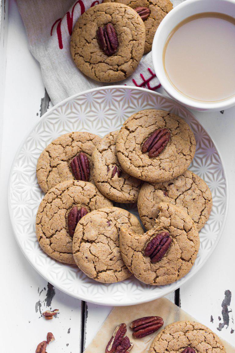 Vegan Cardamom Pecan Cookies The Vegan 8