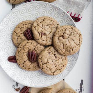 Vegan Cardamom Pecan Cookies