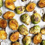 Best Roasted Brussels Sprouts (Oil-free!)