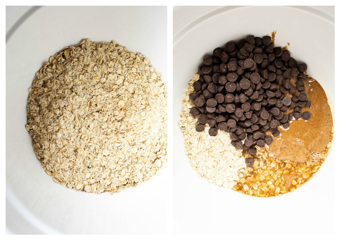 vegan gluten-free oatmeal chocolate chip cookie ingredients