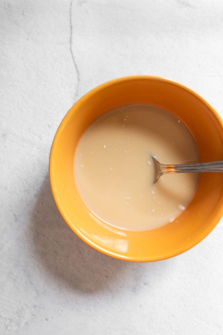 liquids in bowl