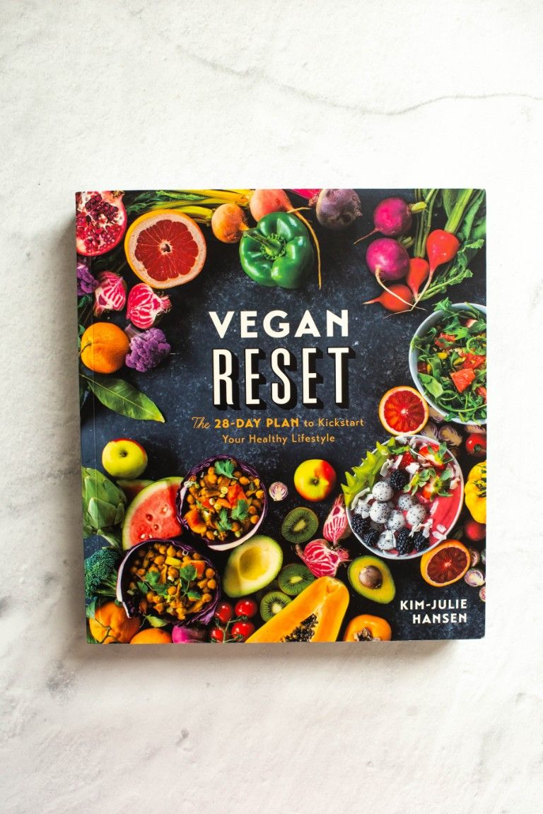 book cover of Vegan Reset